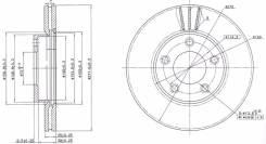 Диск тормозной. Mazda Axela, BK3P, BK5P, BKEP Mazda Training Car, BK5P