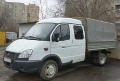 ГАЗ 3302. Газель 7 местная с длинным кузовом, 2 890 куб. см., 3 500 кг.