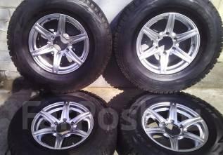 Колеса на зимней резине 265/70/R16 Bridgestone Blizzak DM-V1. 7.0x16 6x139.70 ET25 ЦО 110,0мм.