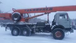 Камаз МКТ-25. Автомобиль Камаз-43118-15 МКТ-25.7 (Автокран), 10 850 куб. см., 25 000 кг.