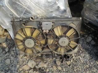 Радиатор охлаждения двигателя. Toyota Mark II, JZX110 Двигатель 1JZGTE