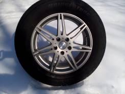 Продам литые колесные диски с резиной. x17 5x114.30 ET35