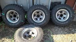 Bridgestone Dueler M/T. Грязь MT, 2012 год, износ: 10%, 4 шт