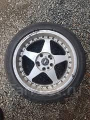 Продам Разноширокие колеса для спорт каров. 8.0/9.0x17 4x114.30, 5x114.30 ET35/38