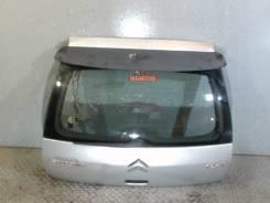 Крышка (дверь) багажника Citroen C4 1.6 л 2005 вмятины + спойлер,