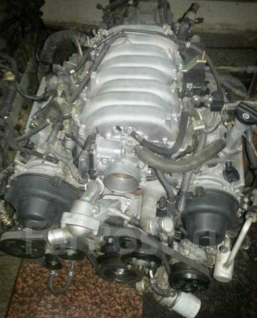 Двигатель в сборе. Toyota Sequoia, UCK35, UCK45 Toyota Land Cruiser, UZJ100W, UZJ100, UZJ100L, UCK35, UCK45 Двигатель 2UZFE