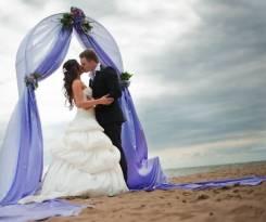 Акция на свадебный шатер на берегу моря, м. Кунгасный 500р с человека!
