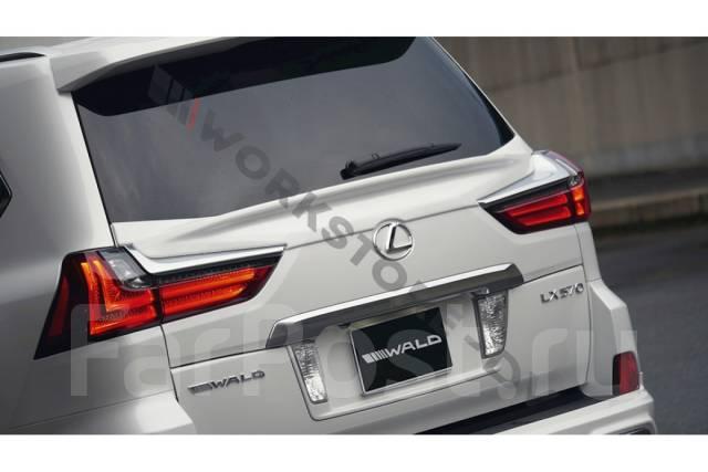 Спойлер на заднее стекло. Lexus LX450d, URJ200, URJ201 Lexus LX570, SUV, URJ201, URJ201W Двигатель 3URFE