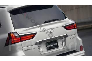 Спойлер на заднее стекло. Lexus LX450d, URJ201, URJ200 Lexus LX570, SUV, URJ201, URJ201W Двигатель 3URFE