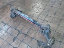 Балка подвески задняя Peugeot 206 1.4 л 2002 4 торсиона + 2 ступицы в сборе + 2 амортизатора , разбит рычаг, стучит на ходу,