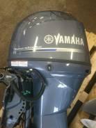 Yamaha. 50,00л.с., 4х тактный, бензин, нога L (508 мм), Год: 2014 год