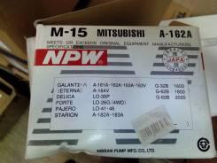 Помпа водяная. Mitsubishi Delica Star Wagon, P04W, P03V, P03W, P13V, P23W, P24W, P23V Mitsubishi Starion, A182A, A183A, A184A Mitsubishi Pajero, L041G...