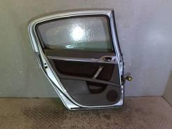 Дверь боковая Peugeot 407, левая задняя
