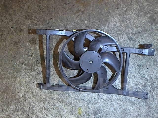 Вентилятор радиатора Fiat 500 2007-