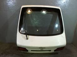 Крышка багажника Mazda 626 1997-2001 1997 с запчасти отделены: Обшивка салона (11.12.2016). ржавчина