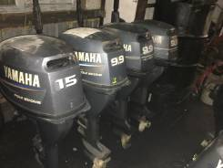 Yamaha. 15,00л.с., 4х тактный, бензин, нога L (508 мм), Год: 2001 год