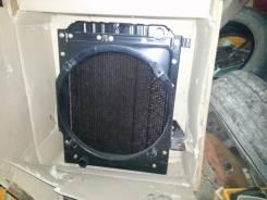 Радиатор охлаждения двигателя. Hyundai Aero