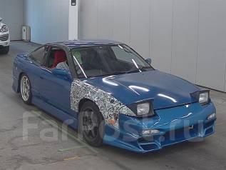 Nissan 180SX. механика, задний, 2.0 (205 л.с.), бензин, 144 тыс. км, б/п, нет птс. Под заказ