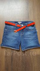 Шорты джинсовые. Рост: 116-122, 122-128 см