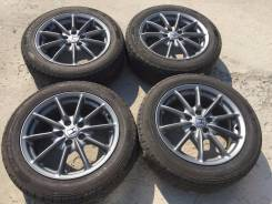 215/55 R17 Goodyear GT Eco-Stage литые диски 5х114.3 (L11-10). 7.0x17 5x114.30 ET55