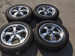 215/60 R17 Bridgestone Blizzak Revo2 литые диски 5х114.3 (L11-12). 7.0x17 5x114.30 ET48