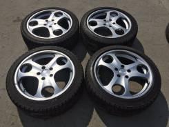 225/45 R18 Bridgestone Blizzak Revo2 литые диски 5х114.3 (L11-14). 7.5x18 5x114.30 ET55