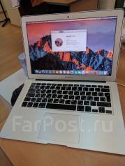 "Apple MacBook Air 13 2011 Mid. 13"", 1,7 ГГц, ОЗУ 4096 Мб, диск 128 Гб, WiFi, Bluetooth"
