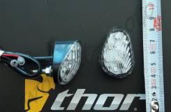 Поворотники комплект 2 шт. Светлое стекло капелька
