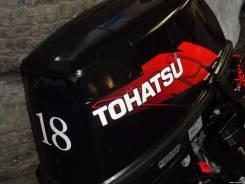 Tohatsu. 18,00л.с., 2х тактный, бензин, нога S (381 мм), Год: 2017 год