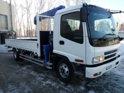 Isuzu Forward. Манипулятор 2008, 7 000 куб. см., 5 000 кг.