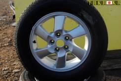 """Продам 1 колесо литье с резиной 215/65/R16 Toyota RUSH, Daihatsu BEGO. x16"""" 5x114.30"""