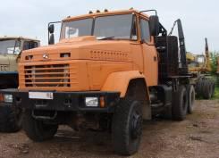 Краз. Продам лесовозный тягач КРАЗ-вездеход с роспуском 2011г/в; пробег 6т. км, 14 300 куб. см., 28 000 кг.