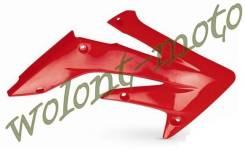 Обтекатели радиатора Polisport 8411300003 CRF450R 05-08 Красный
