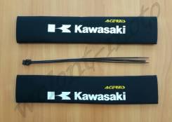 Неопреновые гофры Acerbis Kawasaki Черный с белым