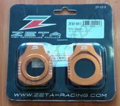 Натяжитель цепи ZE93-5417 Оранжевый ZETA Rear Axle Block KTM SX/SXF 13-