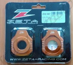 Натяжитель цепи ZE93-5427 Оранжевый ZETA Rear Axle Block KTM SX/SXF-12, 85SX