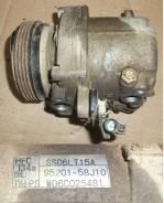 Компрессор кондиционера. Suzuki Jimny, JB23W Suzuki Every, DA64W, DA64V