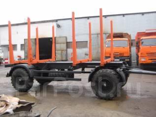 Нефаз 8560. Прицеп сортиментовоз нефаз 8560, 10 000 кг.