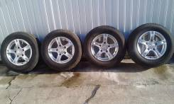 Продам колеса 4 шт. 205/70 R15 Yokohama ice Guard + 1 шина на запаску. 6.5x15 5x139.70 ET40