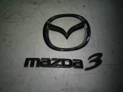 Эмблема багажника. Mazda Mazda3, BK