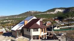 Продается новый дом в Севастополе 350 кв. м. 20 соток эксклюзив. Терновка, р-н Балаклавский район с. Терновка, площадь дома 350 кв.м., централизованн...