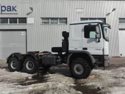 Mercedes-Benz Actros. Седельный тягач Mercedes BENZ Actros 3346 AS 6x6 (односкат), 12 000 куб. см., 33 000 кг.