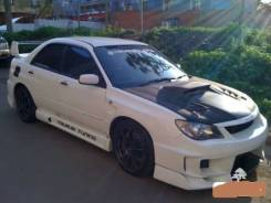 Капот. Subaru Impreza WRX STI