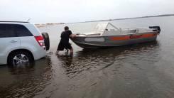Wellboat. длина 4,55м., двигатель подвесной, 30,00л.с., бензин
