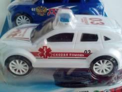 Машинки скорой помощи.