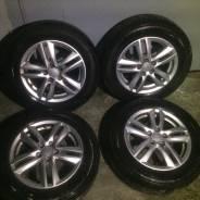 Продам комплект летних колес 195/65/R15. x15 5x100.00