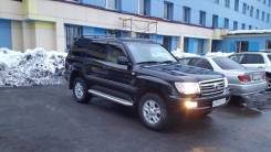 Подножка. Toyota Land Cruiser, UZJ100