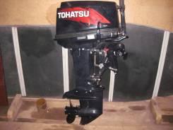 Tohatsu. 25,00л.с., 2х тактный, бензин, нога S (381 мм), Год: 2012 год