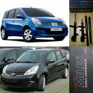 Амортизатор. Nissan Note, E11, NE11 Двигатели: CR14DE, XH1, HR15DE
