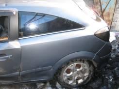 Щит опорный задний левый Opel Astra H